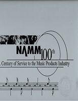 NAMM National Association of Music Merchants 2001 100th Anniversary Album Book