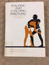 Teaching and Coaching Wrestling, a Scientific Approach Hardcover- very good p18