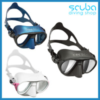 Cressi Calibro Mirror Anti-Fog Mask for Scuba Diving Snorkeling Spearfishing