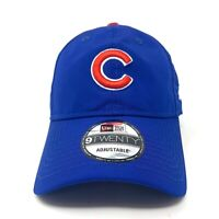Chicago Cubs New Era 9TWENTY Adjustable Hat Dad Cap Blue White Red MLB Baseball