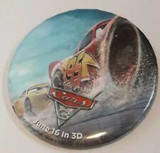 "Disney 3"" Pin / Badge / Button - Cars 3"