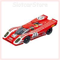 "Carrera Evolution 27569 Porsche 917K ""Porsche Salzburg No.23"" 1970 rot 1:32 Auto"