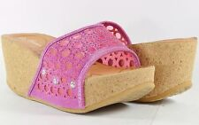 Women Sandals High Platforms Wedge Fashion Lace Hollow Carved Design