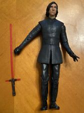 "Star Wars Kylo Ren Metal Cast Figure 7.5"" With Lightsaber"