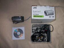 JVC EVERIO S MEMORY CAMCORDER GZ-MS95