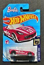 Hot Wheels #273 Barbie '14 Corvette Stingray #7/10 Screen Time ***VHTF**