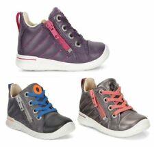 75424158500 Ecco First Boys Sneaker in Mocha//Coffee Leather