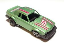 Vintage High Speed Diecast Mercedes-Benz 450 SLC Green PullBack Macau 1/64 Scale