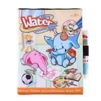 Cartoon Reusable Doodle Coloring Book Kid Painting Magic Water Drawing Book Gift