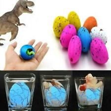 6Pcs Gel Dinosaur Eggs Growing Hatching Dinosaur Gifts Kid Toy Best A4Z4