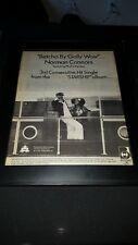 Norman Connors Betcha By Wow Rare Original Promo Poster Ad Framed!