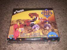 K'Nex Road Crew Builds 3 Models Vintage 1998 *New/Sealed!*