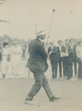 1920 Ted Ray, US Open Champion, British Golfer, Type 1 Silver Gelatin Photo