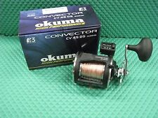 Okuma Convector CV 45DS HS Line Counter Trolling Reel Spooled with 300 ft Copper