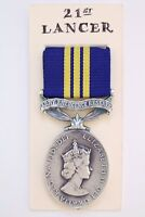 ERII ARMY EMERGENCY RESERVE EFFICIENCY MEDAL ARMED FORCES MILITARY FULL SIZE