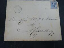 Nederland 19 op brief met inhoud politie Amsterdam - Middelburg 1888