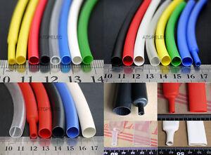 1.6-25.4mm Diameter Adhesive Lined 3:1 Heat Shrink Tube Dual-wall Waterproof