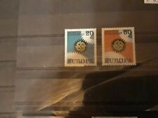 timbre allemagne europa ** neuf 1967 n 398/99