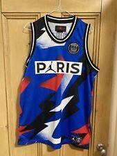 New listing PSG x Jordan Basketball Mesh Jersey Size Medium