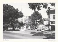 """*Postcard-""""The Fir Tree Inn"""" /Across Blaney Plaza/ *Saratoga, CA (A47-2)"""