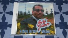 CD NEUF SEALED ANDY FISHER A MAN IN THE WOODS BEAR TRACKS BTCD 971407 rock pop