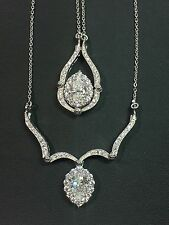 Patented Convertible 2 in 1 Changeable Teardrop Pendant Necklace