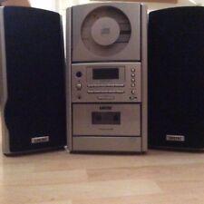 LIFETEC CD Micro Audio System LT 4120 mit Radio, CD-Spieler, Kasettenrekorder