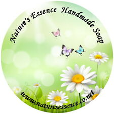 24 GLOSSY PERSONALISED LABELS/STICKERS FOR HANDMADE SOAP BUSINESS