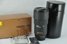 Nikon Nikkor 180mm F/2.8 AF ED Lens, Mint condition boxed