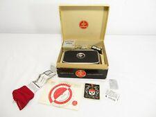 Vintage BOLEX PAILLARD C8 MOVIE CAMERA W/ ORIGINAL BOX & TAGS 8mm Lens Filter NR