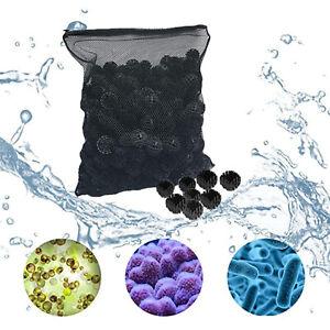 Reusable Bio Balls Filter Media Wet/Dry Reef w/ Media Bag for Canister