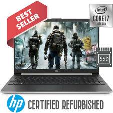 HP 10th Gen. Intel Core i7-1065 3.90GHz 24GB Memory 256GB SSD Drive 15.6