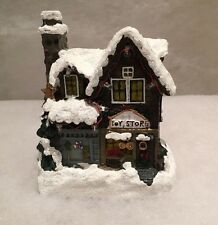 LED Festive Christmas Village Toy Store House Ornament Decoration Lights