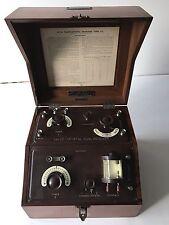 B.T.H VALVE CRYSTAL RADIO RECEIVER TYPE VC. RADIOLA 1 BBC STAMPED