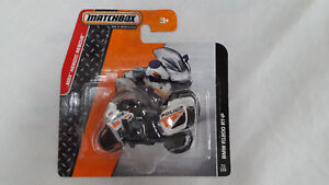 MATCHBOX BMW R1200 RT-P Police Motorrad  Modellauto model car ORIGINAL NEU & OVP