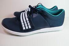 Mens New Adidas Performance Adizero TJ/PV Blue Running Shoe AF5664 Track Si