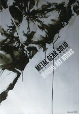 Used Metal Gear Solid Peace Walker Official Art Works Book From JAPAN
