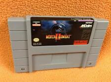 Mortal Kombat II 2  Nintendo SNES Game *Cart Only* Super Fast FREE SHIP!