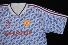 Manchester United 1990-1992 Classe di 92 ADIDAS AWAY FOOTBALL SHIRT X-Large XL
