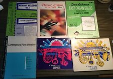 Organ/Piano music books lot 8 books