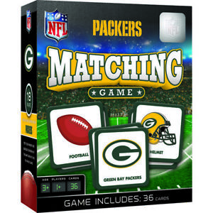 Green Bay Packers NFL Matching Game
