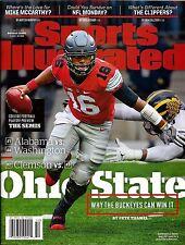 New Sports Illustrated JT Barrett OSU Ohio State Buckeyes 2016 No Mailing Label