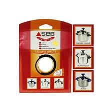 Genuine Tefal Seb COCOTTE MINUTE Pressure Cooker Sealing Ring Rubber 8 Litre