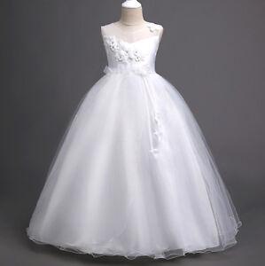 Vestito Damigella Comunione Abito Bambina Girl Party Bridesmaid Dress CDR078 BIA