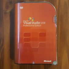 Microsoft Visual Studio Professional 2008 SQL Server Dev 2005 RETAIL Box