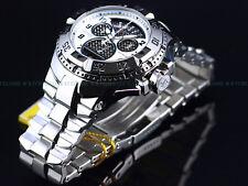New $2,395 Invicta Reserve 50mm Swiss Cage Dial Retro Chrono High Polish Watch