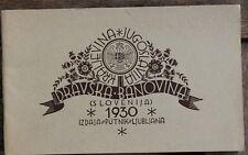 28544 Reise Prospekt Dravska Banovina Kraljevina Jugoslavia Jugoslawien 1930