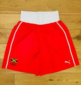 Puma Herren Jamaica Pro Elite Olympic Boxtraining Shorts Neu Größe M 507838