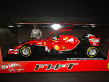 Hot Wheels Ferrari F1 F14 T 2014 Fernando Alonso BLY67 1/18