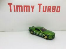 HOT WHEELS FORD SHELBY GT 500 SUPER SNAKE METALLIC GREEN 75MM MALAYSIA LONG 31